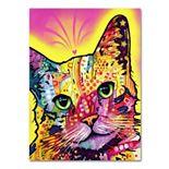 """""""Tilt Cat"""" Canvas Wall Art"""
