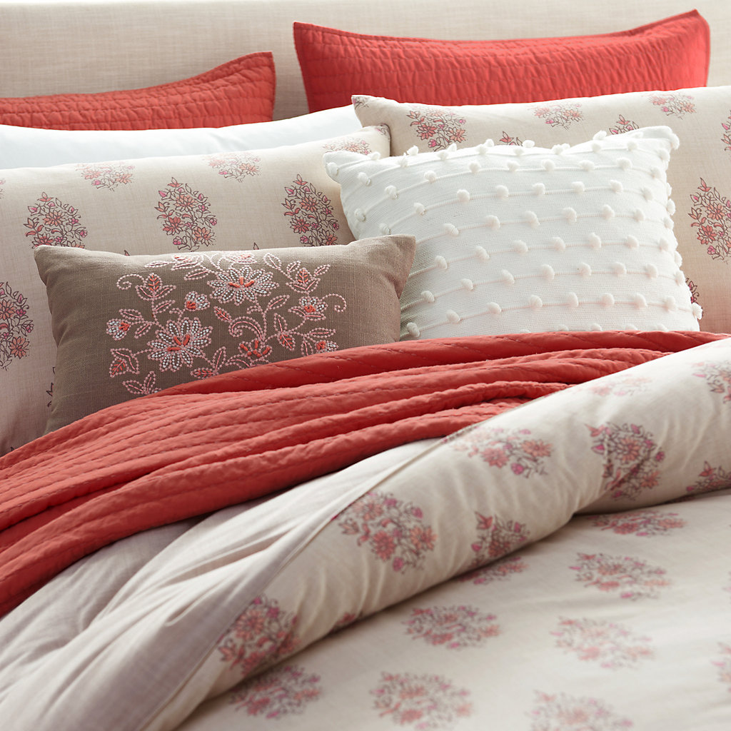 SONOMA Goods for Life™ Jasmine Woodblock Duvet Cover Collection