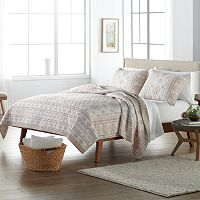 SONOMA Goods for Life™ Floral Vertical Stripe Quilt Collection