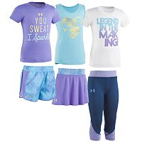 Girls 4-6x Under Armour Mix & Match Outfits