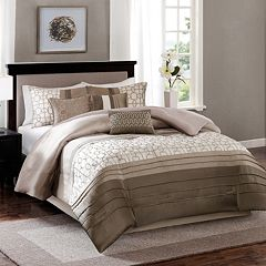 Madison Park Jeffrey Comforter Collection