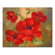 ''Poppies'' Canvas Wall Art