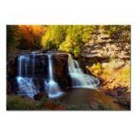 ''Motion'' Waterfall Canvas Wall Art