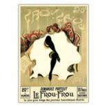 ''Le Frou Frou'' Canvas Wall Art