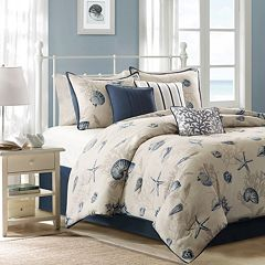 madison park nantucket comforter collection - Nautical Bedding