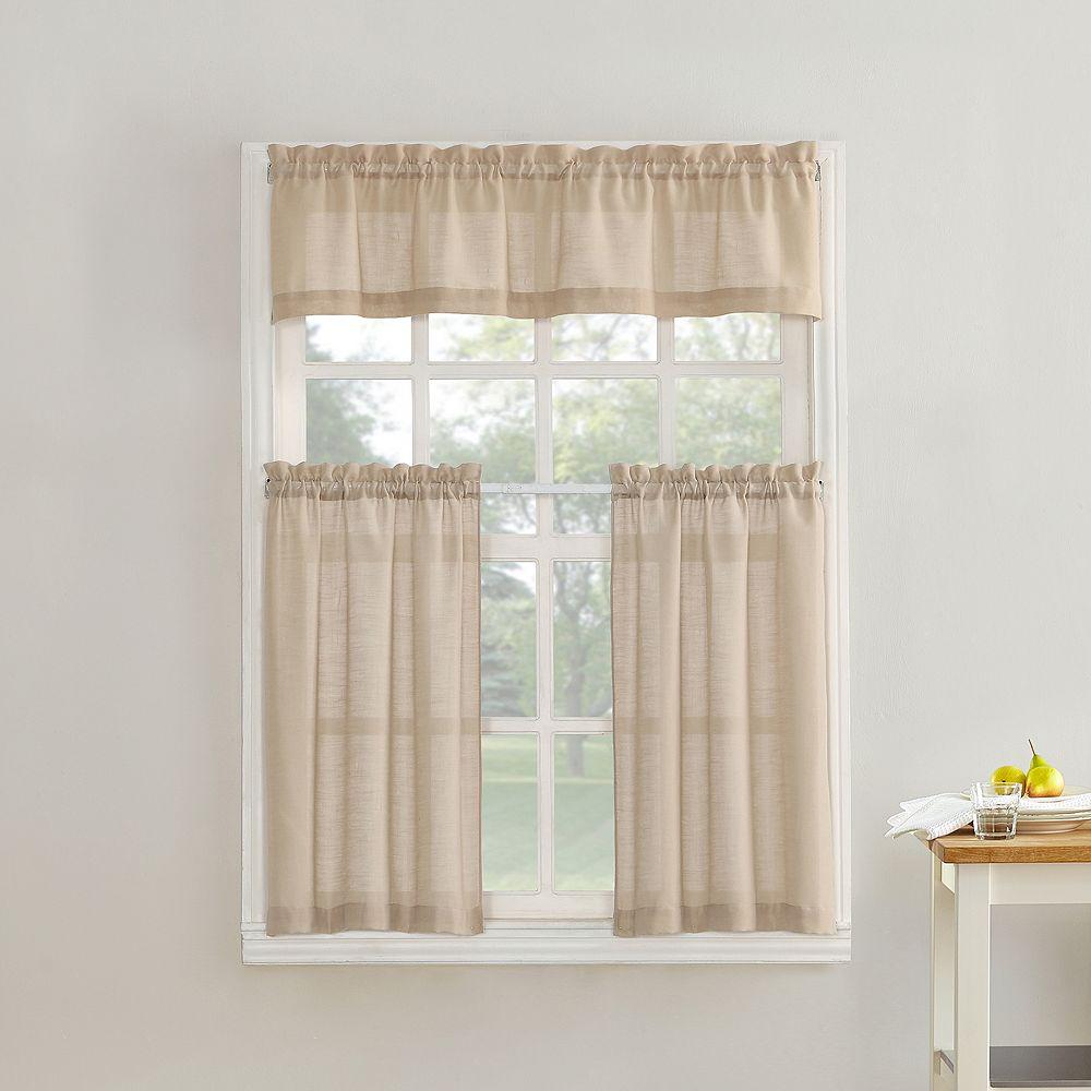 Tier Kitchen Window Curtains