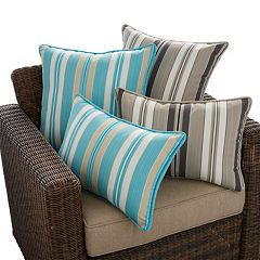 SONOMA Goods for Life™ Suntastic 1000 Striped Indoor Outdoor Reversible Pillow & Cushion Collection