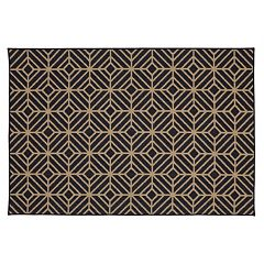 Mohawk Home Oasis Rockport Geometric Indoor Outdoor Rug Collection by