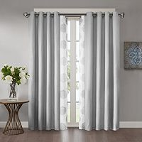 Madison Park Indra & Declan Layered Window Treatments