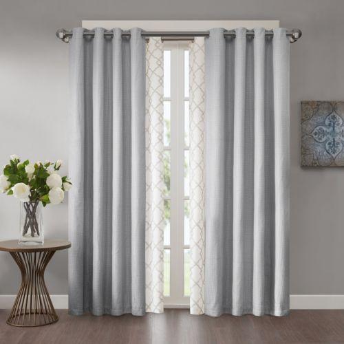 Madison Park Bonwitt & Declan Layered Window Treatment Collection