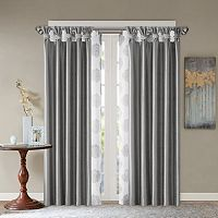 Madison Park Indra & Daniele Layered Window Treatments