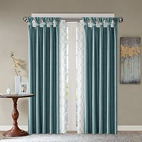 Madison Park Bonwitt & Daniele Layered Window Treatment Collection