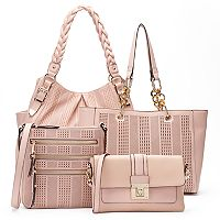 Apt. 9® Pink Perforated Handbag Collection