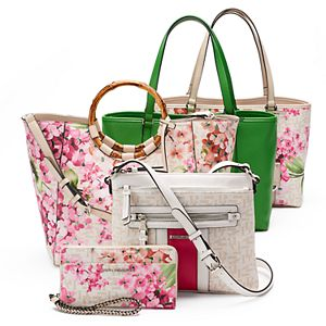 Dana Buchman Mother's Day Floral Print Handbag Collection