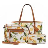 Dana Buchman Lemon Print Handbag Collection