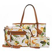 Dana Buchman Lemon Print Handbag Collection