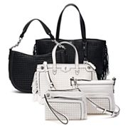 Simply Vera Vera Wang Woven Handbag Collection