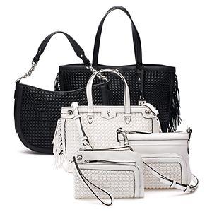 Simply Vera Vera Wang Woven Handbag Collection