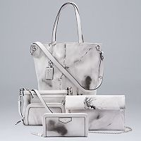 Simply Vera Vera Wang Marble Handbag Collection