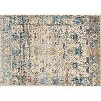 Loloi Anastasia Distressed Framed Floral IV Rug Collection