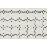 Loloi Panache Linked Circles Geometric Wool Blend Rug Collection