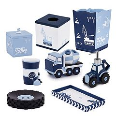 Kassatex Kids Construction Bath Accessories Collection