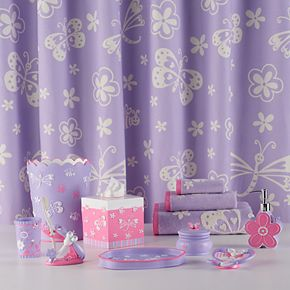 Cassadecor Kids Mariposa Shower Curtain Collection