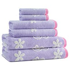 Kassatex Kids Butterfly Bath Towel Collection