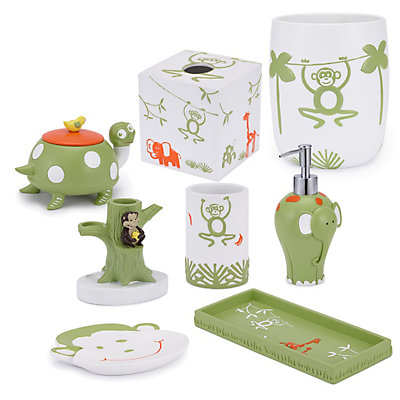 Cassadecor Kids Zoo Bath Accessories Collection