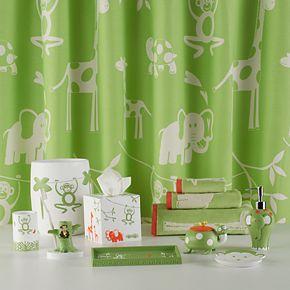Cassadecor Kids Zoo Shower Curtain Collection