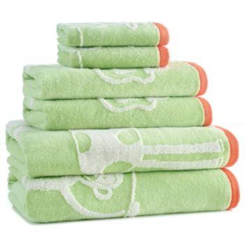 Kassatex Kids Jungle Bath Towel Collection