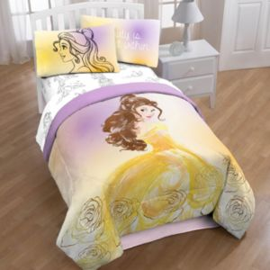 Disney's Beauty and the Beast Belle Comforter Collection by Jumping Beans®