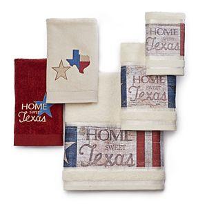 Home Sweet Texas Bath Towel Collection