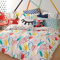 Scribble Tulip Comforter Collection