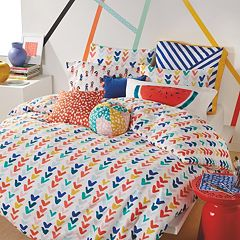 Scribble Check Mark Comforter Collection