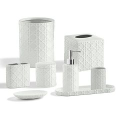 Kassatex Rattan Bath Accessories Collection