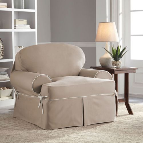 Serta Stretch Fit Slipcover Co...