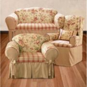 <strong>Sure Fit™ Lexington Floral Slipcovers</strong>
