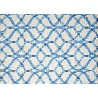 Waverly Sun N' Shade Abstract Trellis Indoor Outdoor Rug Collection