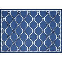 Waverly Sun N' Shade Rope Lattice Indoor Outdoor Rug Collection