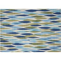 Waverly Sun N' Shade Abstract Geometric Indoor Outdoor Rug Collection