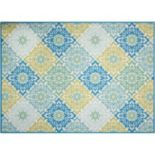 Waverly Sun N' Shade Sweet Sun Floral Indoor Outdoor Rug Collection