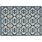 Waverly Sun N' Shade Celestial Geometric Indoor Outdoor Rug Collection