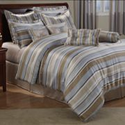 Moser 8-pc. Striped Comforter Set