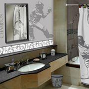Sports Bathroom Decor