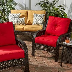 Greendale Home Fashions Outdoor Cushion Collection