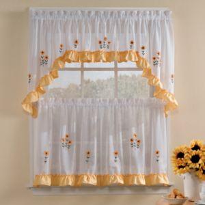 Sunnyside Floral Kitchen Curtains