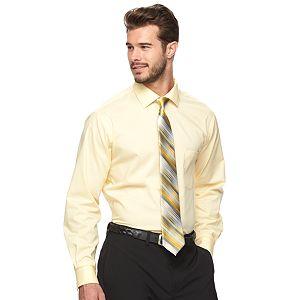 Men's Van Heusen Flex Collar Dress Shirt & Tie Combination