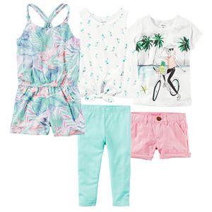 Girls 4-8 Carter's Mix & Match Outfits
