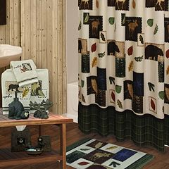 Bacova Explore Shower Curtain Collection